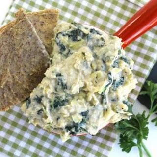 White Bean Kale & Artichoke Dip Recipe