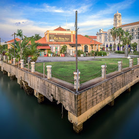 Persoective by Ah Wei (Lung Wei) - Buildings & Architecture Architectural Detail ( samyang, sunrises, george town, hai nan town, penang island, malaysia, frontground, landscape, persoective, big stopper, samyang 14mm f2.8, george town penang, ah wei (lung wei), pulau pinang, composition, penang, sunrise, 10 stop nd filter )