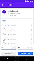 Screenshot of Progression - Fitness Tracker
