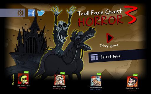Troll Face Quest: Horror 3 apkmr screenshots 6