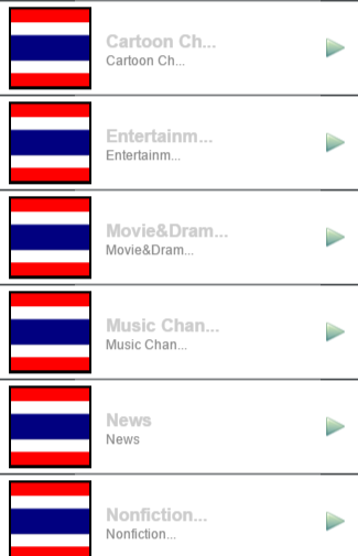 Thailand Channels Info