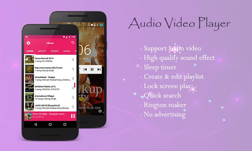 Audio Video Music Player [Free] 1.5.1 gameplay | AndroidFC 1