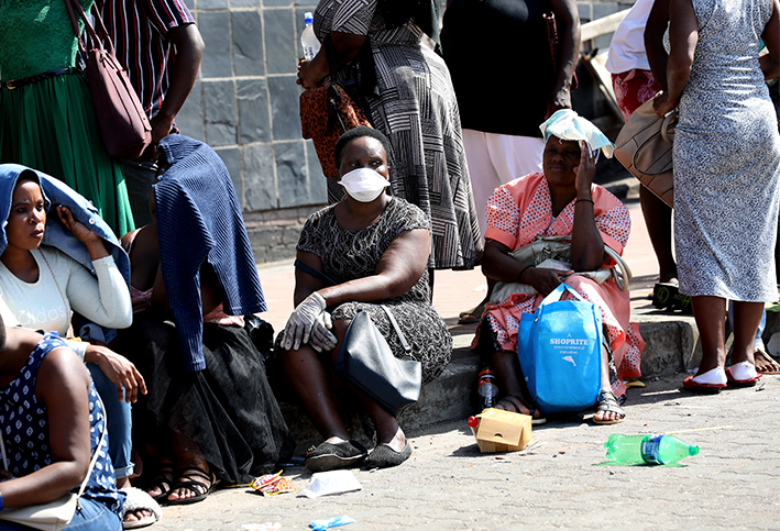 During the prolonged Covid-19 lockdown, refugee and migrant women living in Johannesburg are often faced with a choice between being able to feed their families or keep a roof over their heads.