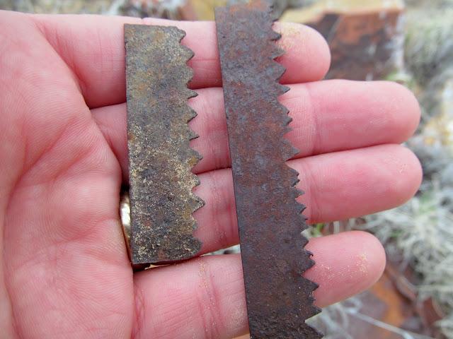 Broken saw blade?