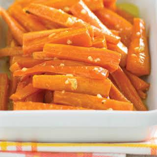 Honey Roasted Carrots.