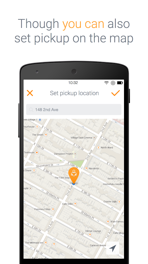 PickmeApp - book your ride- screenshot