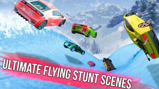 Frozen Water Slide Car Race 1.6 screenshots 8