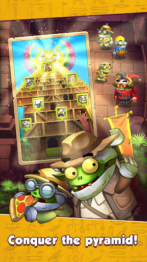Code Triche Monster Hustle: Fun in dungeons APK MOD screenshots 1