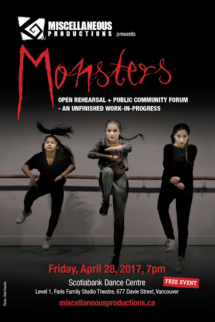 Monsters - Open Rehearsal and Public Community Forum