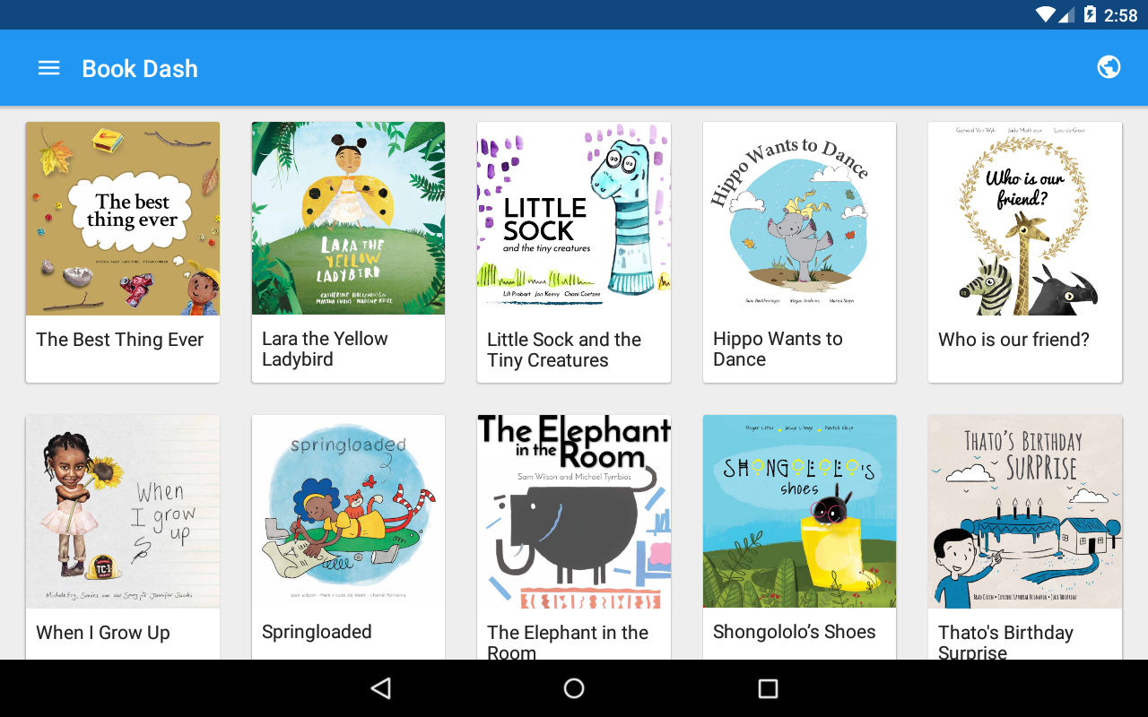 Book Dash - Free Kids Books- screenshot