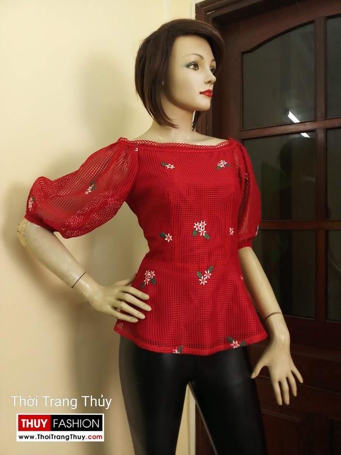 Váy áo tay bồng nữ tính và quyến rũ V669 tại đà nẵng