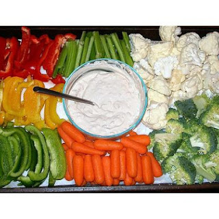 Holiday Veggie Platter