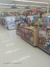 Photo: This is the beginning of the cosmetics aisle in my Walgreens. It's the first section when you walk in the door!