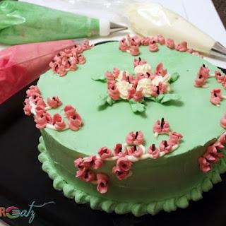6-inch White Cake