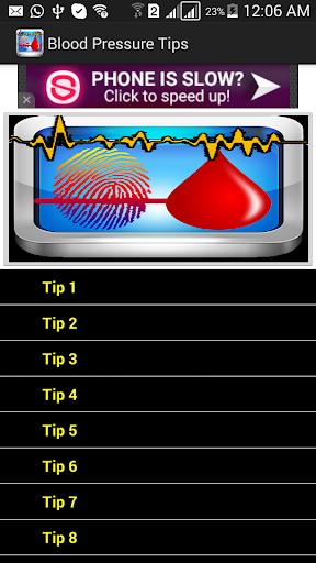 Blood Pressure Tips