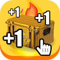 🔥Skin Clicker Case Opening Tap & Idle icon