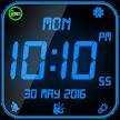 Night Digital Clock With Alarm APK