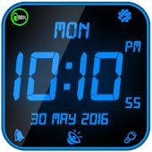 Night Digital Clock With Alarm
