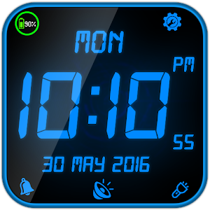digital clock. cover art digital clock
