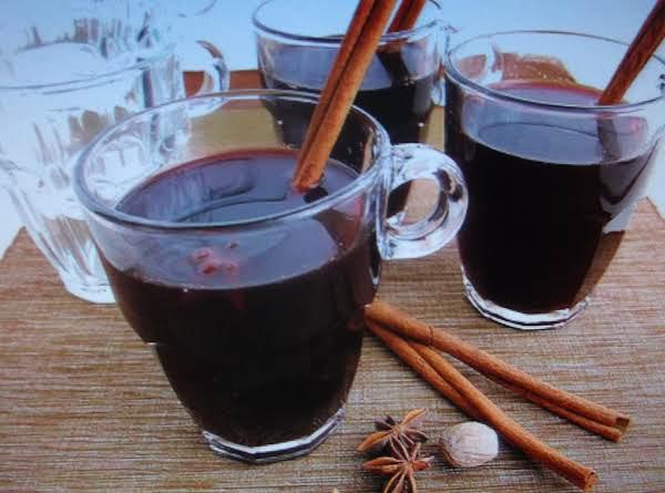 Polish Hot Mulled Wine