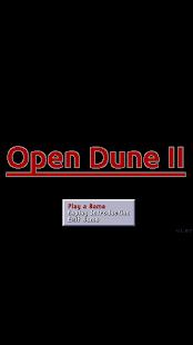 Open Dune 2 - náhled