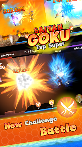 Saiyan Goku Tap Super Z  screenshots 12