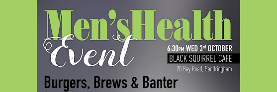 Burgers, Brews & Banter - Men's Health Event