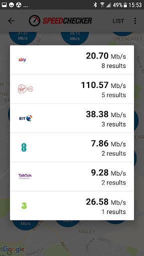 Internet Speed Test 4G, 3G, LTE, Wifi, GPRS  screenshots 5