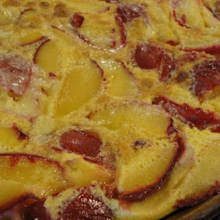 Easy Plum Clafouti