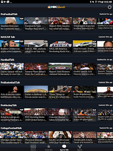 NBC Sports Scores- screenshot thumbnail