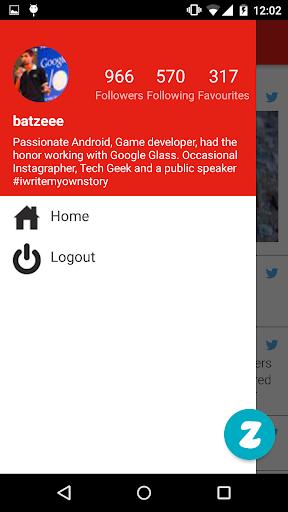 Zwitter 1.0.0 screenshots 5