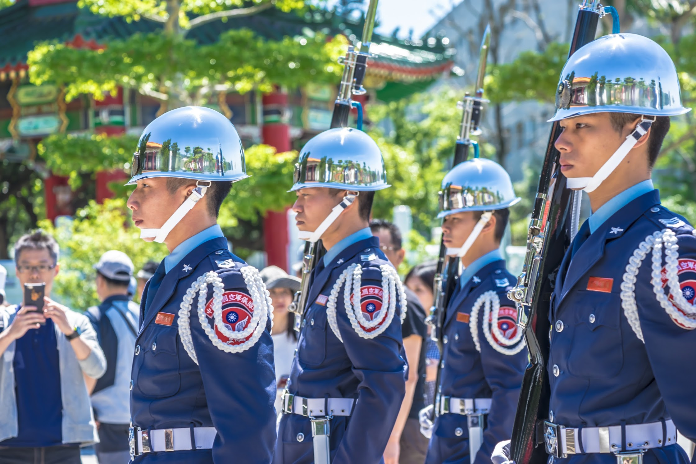 National Revolutionary Martyrs' Shrine changing ceremony of the honor guard2