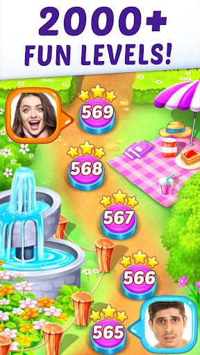 Gummy Paradise - Free Match 3 Puzzle Game  screenshots 6