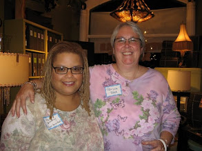 Photo: With Patricia Todd at Equality Alabama social.