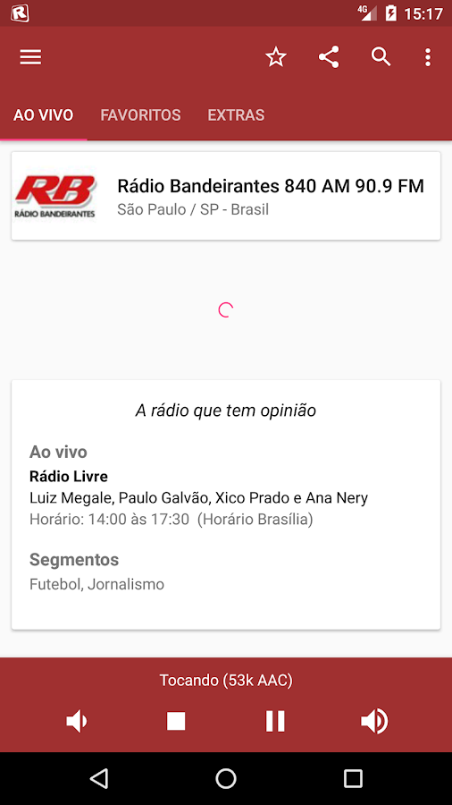 RadiosNet- screenshot