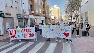 Movilización de los padres del CEIP Indalo