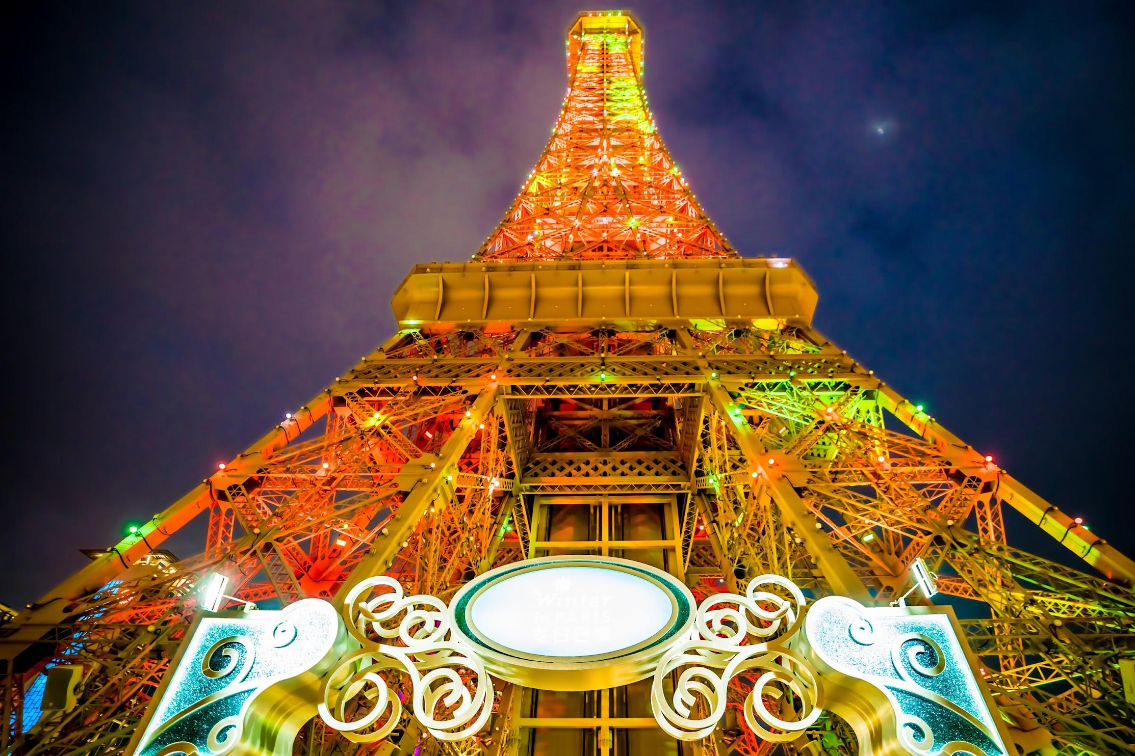 Parisian Macao Eiffel Tower light-up1
