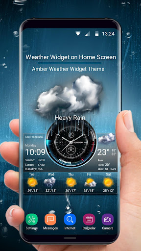 Weather Widget on Home Screen  screenshots 1