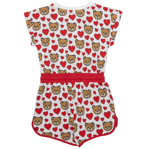 Thumbnail images of Moschino Teddy Cotton Playsuit