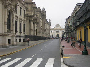 Photo: Lima, Weg von Plaza de Armas zu Convento San Francisco