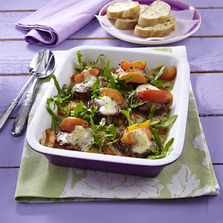 Pork Tenderloin with Apricots and Gorgonzola