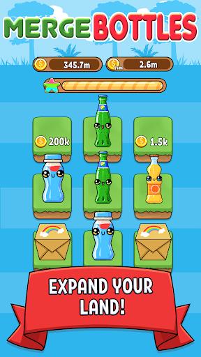 Merge Bottle - Kawaii Idle Evolution Clicker Game 1.05 screenshots 2