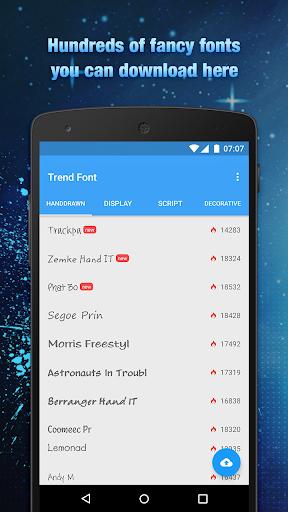 Trend Font FlipFont Free