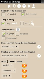Download free Progressive Muscle Relaxation for PC on Windows and Mac apk screenshot 2