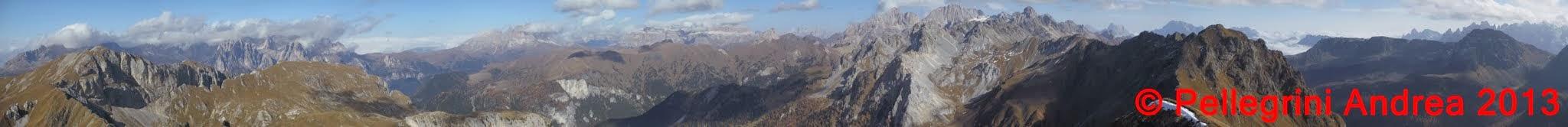 Photo: Panorama 12 panorama 360 da Cima Malinverno