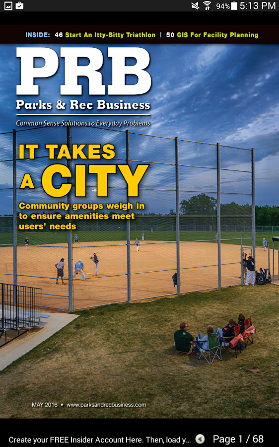 PRB (Parks & Rec Business) Mag- screenshot