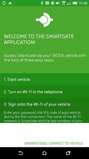u0160KODA SmartGate  screenshots 1