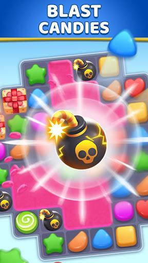Candy Land: u00abmatch 3u00bb - jeux match 3 gratuit  captures d'u00e9cran 2
