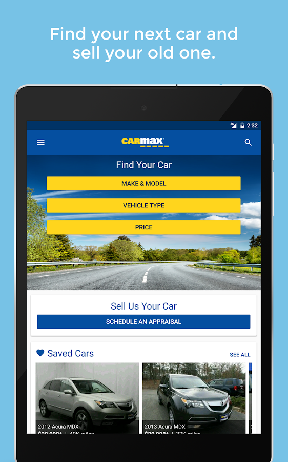 CarMax - Used Cars for Sale- screenshot