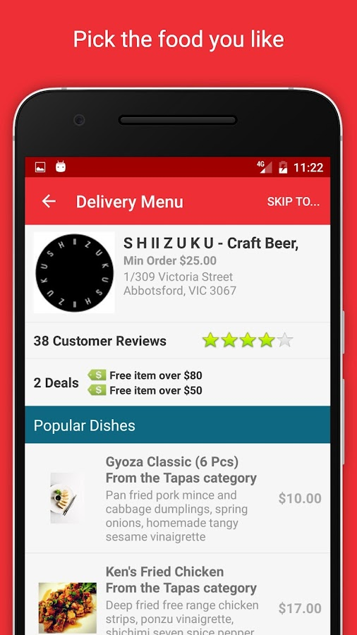 EatNow Online Food Ordering- screenshot